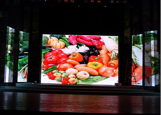 China 65410 dot/㎡ Indoor Fixed LED Screen For Advertising , P10 Indoor Led Display supplier