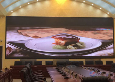 China HD Full Color Indoor Fixed LED Display 3in1 160x160mm Module Size supplier