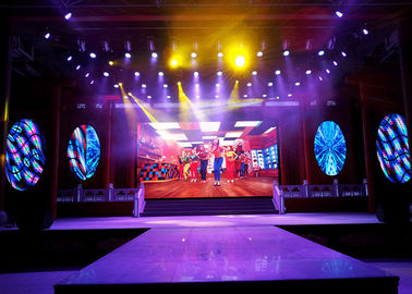 China Rental SMD HD P4 P5 P6 outdoor led display 62500 dot/㎡ Density  4mm Pitch supplier