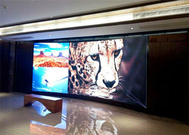 China Waterproof Small Pitch LED Display , indoor advertising led video wall 111111 dot/㎡ Density supplier