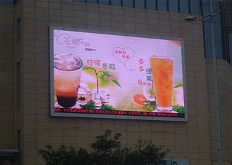 China Big Advertising Screen P6 Outdoor Full Color LED Display SMD3535 ICN2037 supplier