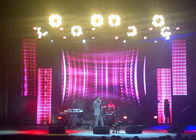 China P3.91 / P4.81 Advertising Led Stage Screen Rental Brightness ≥4500 cd/sqm factory