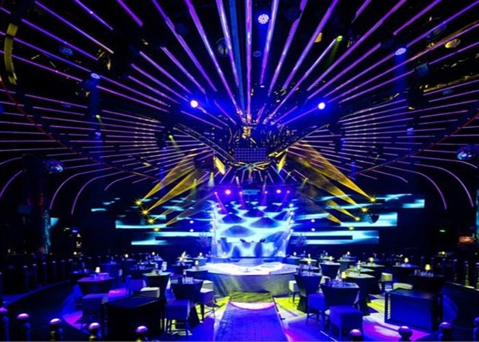SMD P3 91 / P4 81 Rental LED Display hd stage background