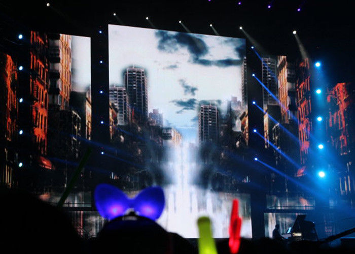 IP65 Outdoor Led Screen Rental / Stage Background LED Video Wall