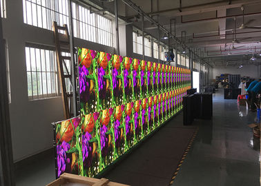 China P4.81 Outdoor Full Color LED Display 250x250mm LED Panel 500x1000mm Die-casting factory