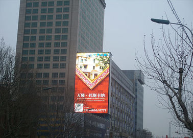 China HD Outdoor Full Color LED Display SMD Cabinet , Full Color Outdoor Advertising Led Display distributor