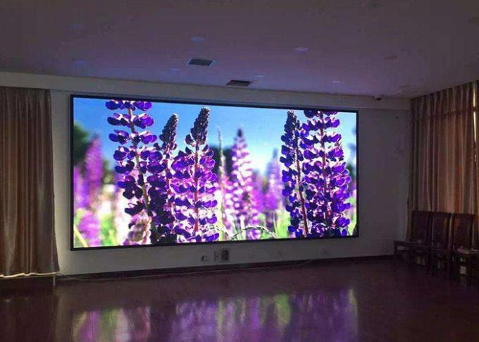 P2.5 Pitch Indoor Full Color Led Display , Rental Led Display Screen 64x64 dot Density
