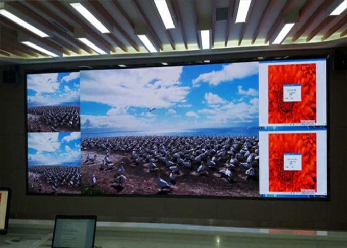 208x156 dots Fine Pitch Led Display  P1.923 / P2 LED Video Wall Screen