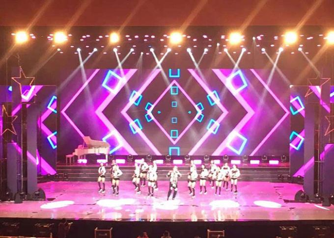 SMD P3 91 / P4 81 Rental LED Display hd stage background video