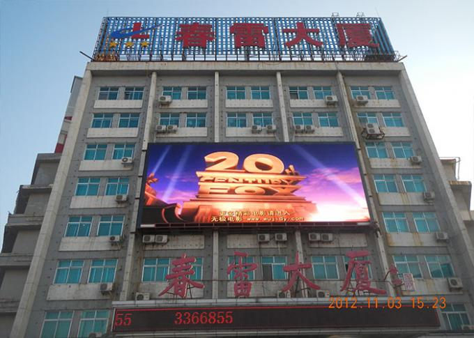 High Resolution SMD LED Screen P8 RGB LED Outdoor Advertising Wall