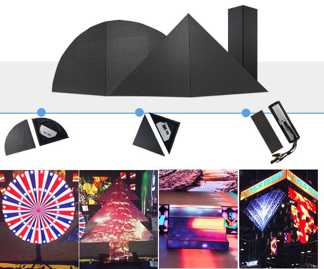 DJ Club bar P5.95 super hot stage led Video Display screen for concert
