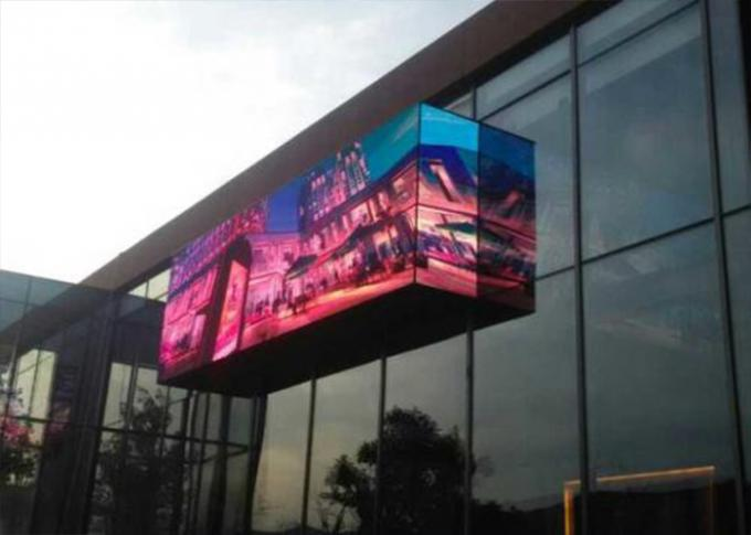 1/4 Scan 0utdoor P6 LED Screen 32x32 Dots for Billboard Outdoor Advertising LED Display Screen